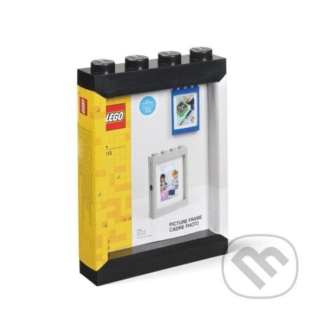 LEGO fotorámeček - černá