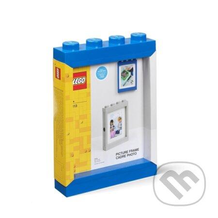 LEGO fotorámeček - modrá