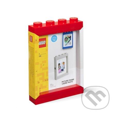 LEGO fotorámeček - červená