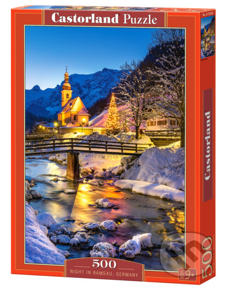 Night in Ramsau, Germany -