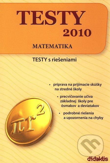 Testy 2010 - Matematika - Didaktis
