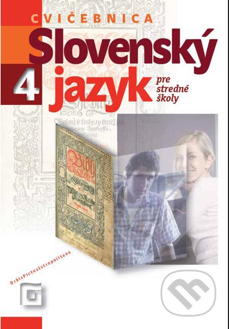 Removu.cz Slovenský jazyk 4 pre stredné školy (Cvičebnica) Image