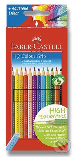 Faber - Castell Pastelky trojhranné Grip - rozmývatelné 12 ks - Faber-Castell