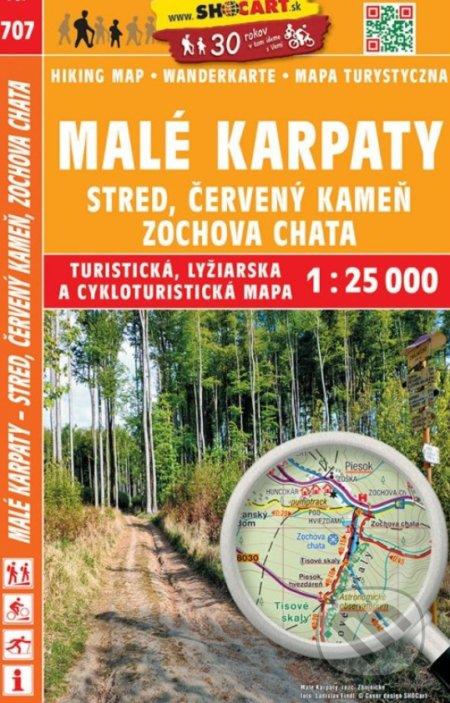 Malé Karpaty, Stred, Červený Kameň 1:25 000 - SHOCart