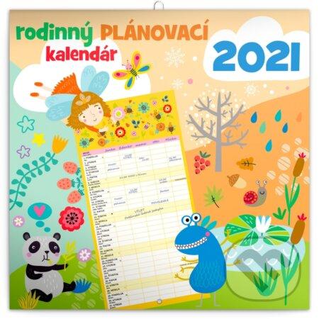 Nástenný Rodinný plánovací kalendár 2021 - Presco Group