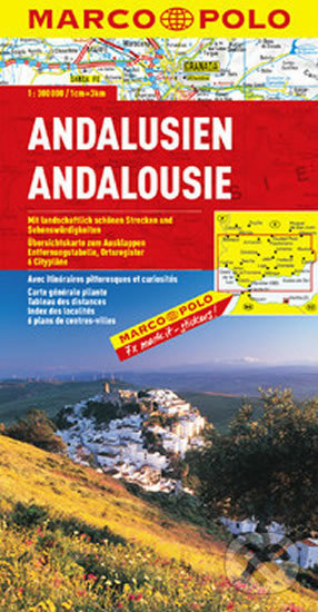 Andalusie / mapa 1:300T - Marco Polo