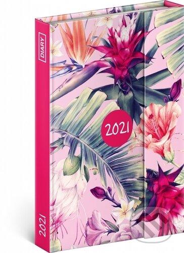 Týdenní magnetický diář Tropické listy 2021 - Presco Group