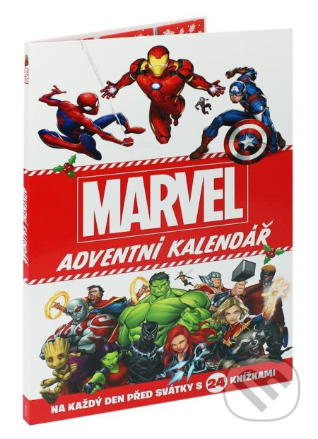Marvel: Adventní kalendář - Egmont ČR