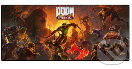 Podložka pod myš a klávesnici Doom: Marauder