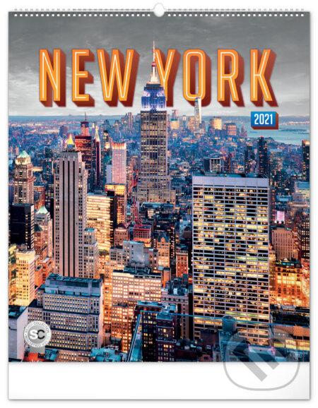 Nástěnný kalendář New York 2021 - Presco Group