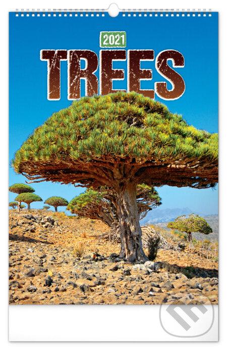 Nástěnný kalendář Trees 2021 - Presco Group