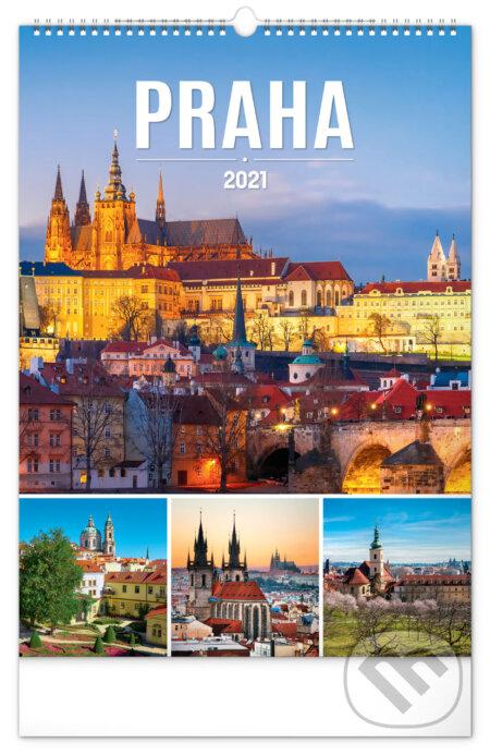 Nástěnný kalendář Praha 2021 - Presco Group