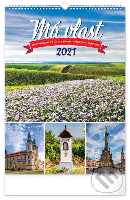 Nástěnný kalendář Má vlast 2021 - Presco Group