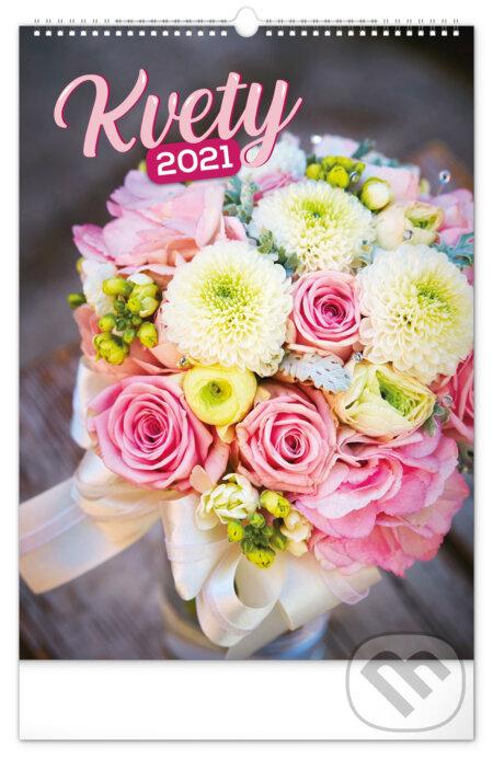 Nástenný kalendár Kvety 2021 - Presco Group