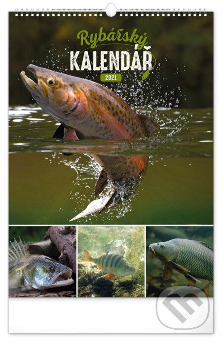 Nástěnný kalendář Rybářský 2021 - Presco Group