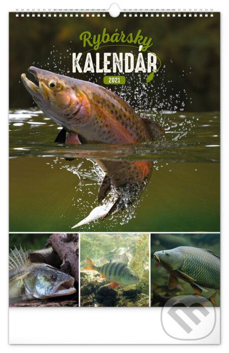 Nástenný kalendár Rybársky 2021 - Presco Group