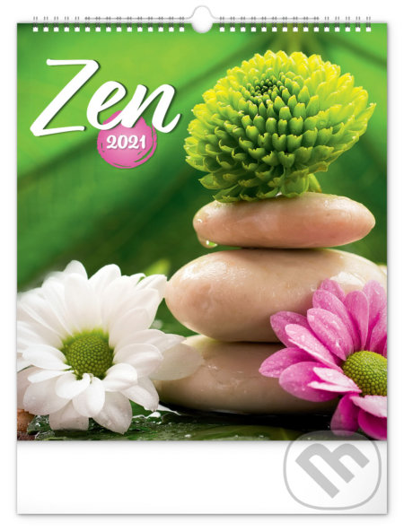 Nástěnný kalendář Zen 2021 - Presco Group