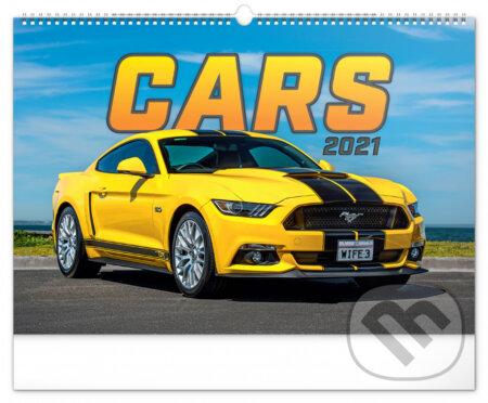 Nástěnný kalendář Cars 2021 - Presco Group