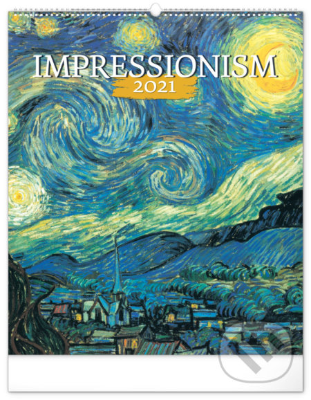 Nástěnný kalendář Impressionism 2021 - Presco Group