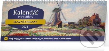 Stolní kalendář Kalendář pro seniory 2021 - Presco Group