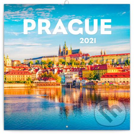 Poznámkový nástěnný kalendář Prague 2021 - Presco Group