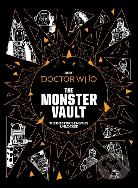 Doctor Who: The Monster Vault - Jonathan Morris, Penny C.S. Andrews, Lee Johnson (ilustrácie)