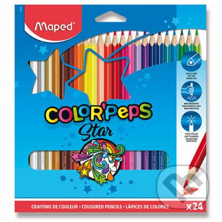 Maped - Pastelky trojhranné Color´ Peps 24 ks - Maped