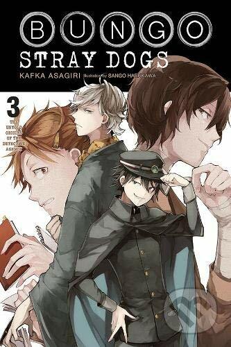 Bungo Stray Dogs 3: The Untold Origins of the Detective Agency - Kafka Asagiri, Sango Harukawa (ilustrácie)