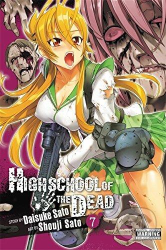 Highschool of the Dead 7 - Daisuke Sato, Shouji Sato (ilustrácie)