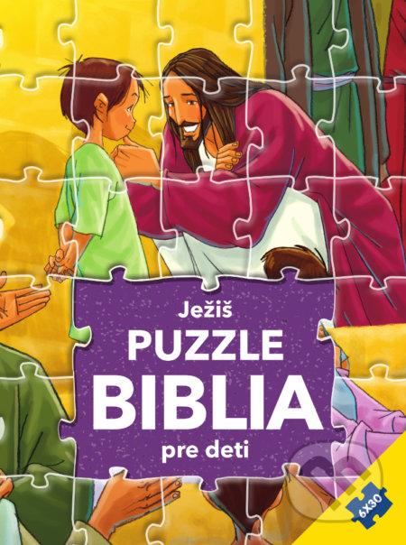 Puzzle Biblia pre deti: Ježiš - Gustavo Mazali, Gao Hanyu