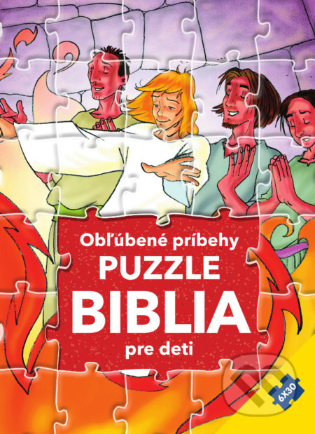Puzzle Biblia pre deti: Obľúbené príbehy - Gustavo Mazali, Gao Hanyu