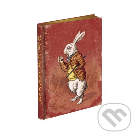 Alice's Adventures in Wonderland Journal - 'Too Late,' said the Rabbit - The Bodleian Library