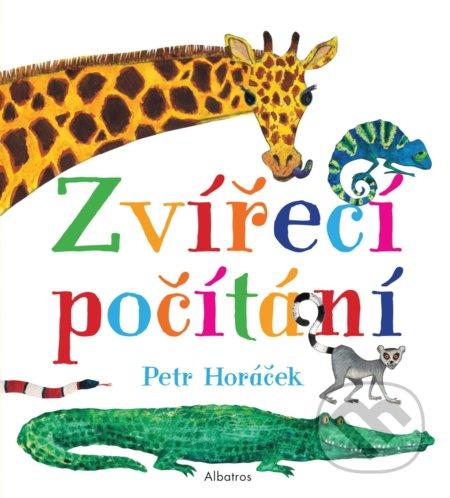 Zvířecí počítání - Petr Horáček, Petr Horáček (ilustrátor)