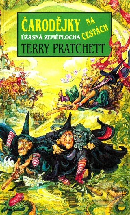 Kniha Čarodějky na cestách (Terry Pratchett)
