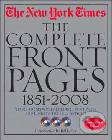 New York Times - The Complete Front Pages 1851 - 2008 -