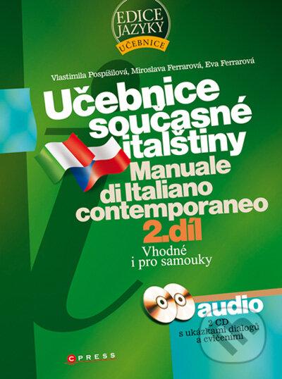 Peticenemocnicesusice.cz Učebnice současné italštiny - 2. díl + 2 audio CD Image