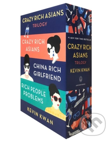 The Crazy Rich Asians Trilogy Box Set - Kevin Kwan