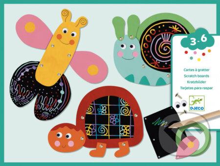 Vyškrabovačky-Veselé zvieratká - Djeco