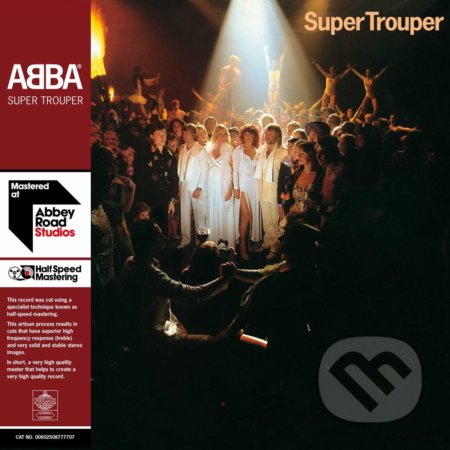 Abba: Super Trouper LP - Abba