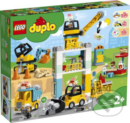 LEGO DUPLO 10933 Stavba s vežovým žeriavom - LEGO