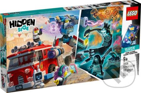 LEGO Hidden Side 70436 Prízračné hasičské auto 3000 - LEGO