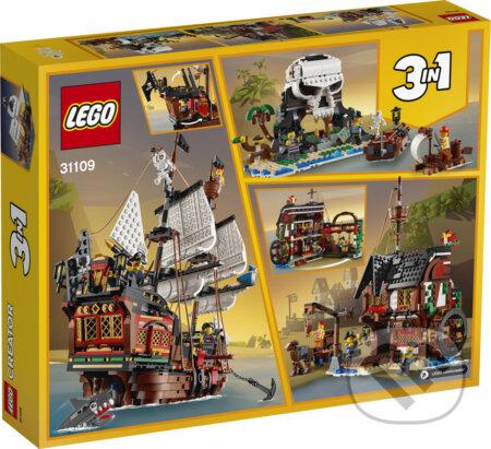 LEGO Creator 31109 Pirátska loď - LEGO