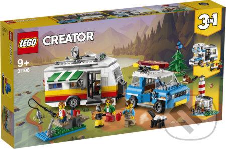 LEGO Creator - Rodinná dovolenka v karavane - LEGO