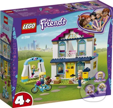 LEGO Friends 41398 Stephanie a jej dom 4+ - LEGO