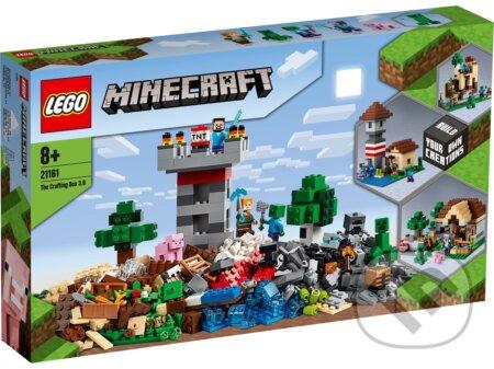 LEGO Minecraft 21161 Kreatívny box 3.0 - LEGO