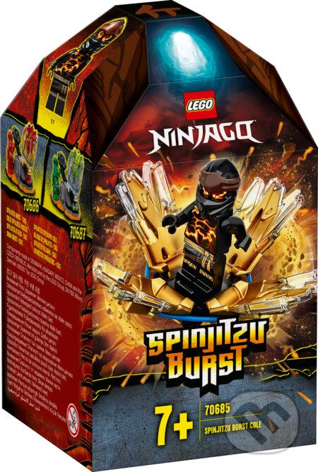 LEGO Ninjago - Spinjitzu úder – Cole - LEGO