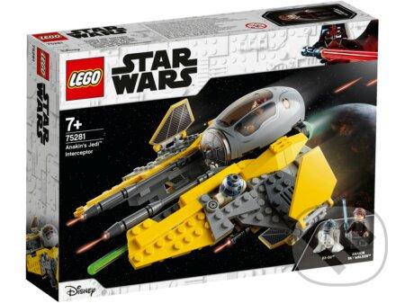 LEGO Star Wars 75281 Anakinova jediská stíhačka - LEGO