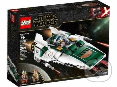 LEGO Star Wars 75248 Stíhačka A-Wing Odporu - LEGO