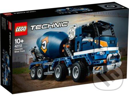 LEGO Technic - Nákladiak s miešačkou na betón - LEGO
