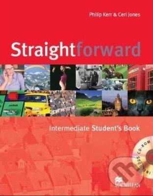 Straightforward - Intermediate - Student's Book + CD-ROM - Philip Kerr, Ceri Jones